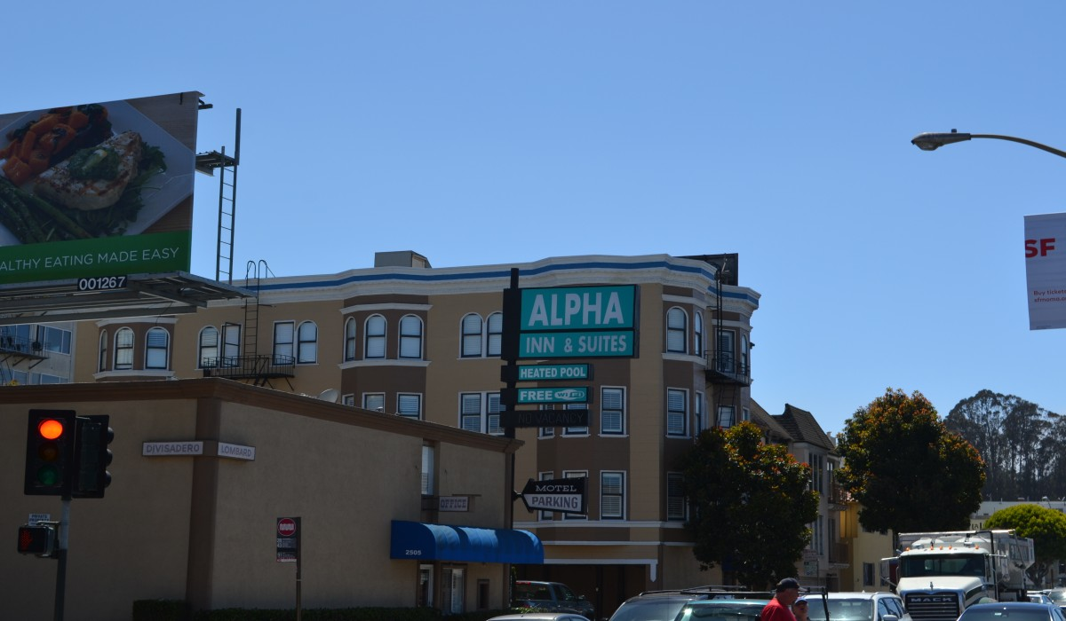 Alpha Inn & Suites San Francisco - Alpha Inn & Suites Lombard St Hotel